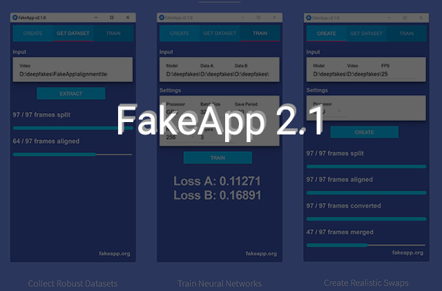 FakeApp v2.1 tutorial