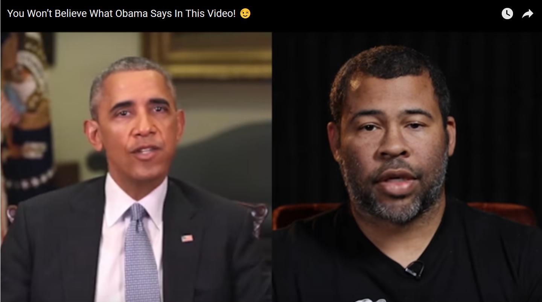 Not Obama deepfake
