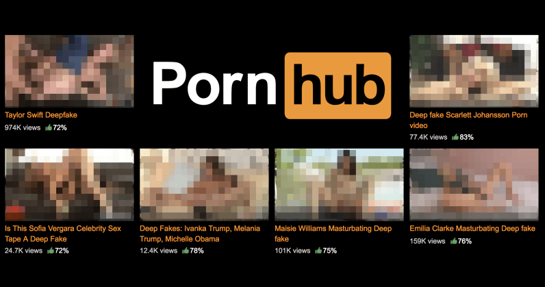 Pornhub promised to ban 'deepfakes' videos. And it failed miserably.